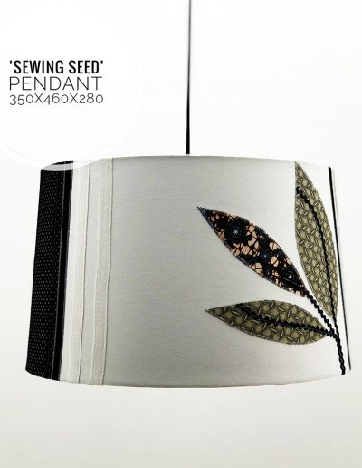 Nolden Bros Sewing Seed Pendant