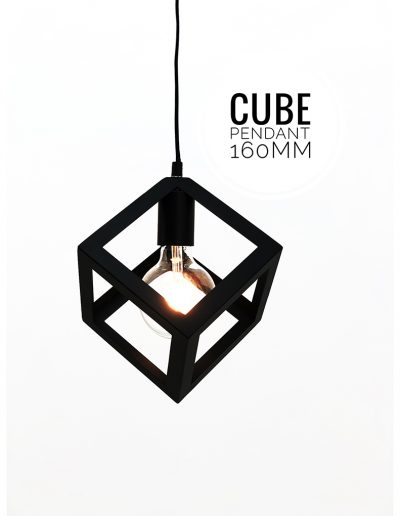 Nolden Bros Cube Pendant Light