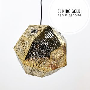 Nolden Bros El Nido Gold Pendant Light