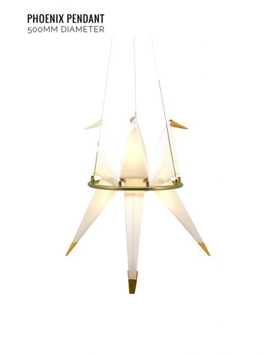 Nolden Bros Phoenix Pendant Light