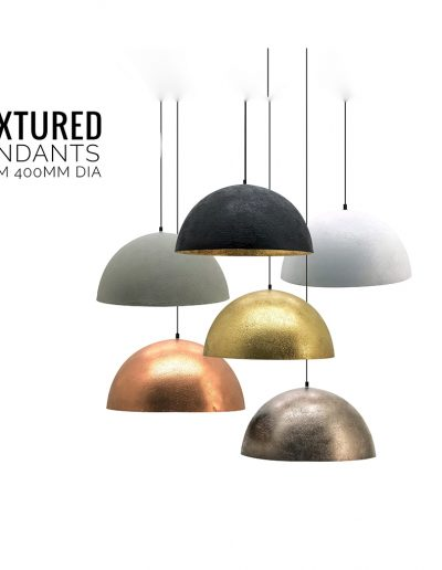Nolden Bros Textured Pendant Lights